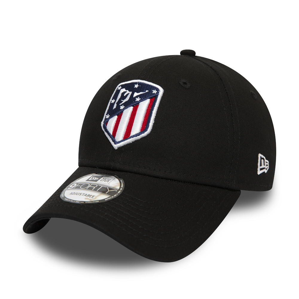 Atletico Madrid Logo Black 9FORTY