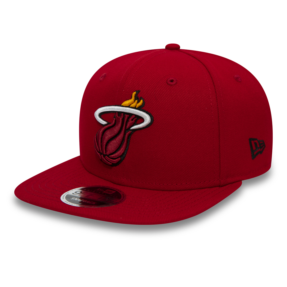 06940985a Miami Heat 9FIFTY Original Fit Snapback