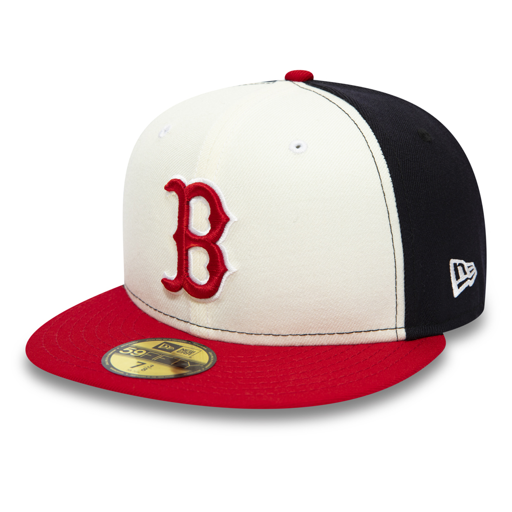 Boston Red Sox White 59FIFTY Cap