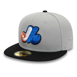 Montreal Expos 59FIFTY, gris