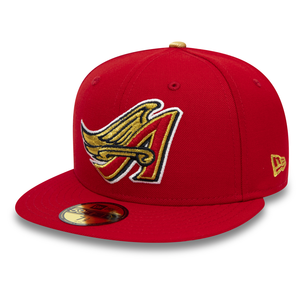 Anaheim Angels 59FIFTY, rojo