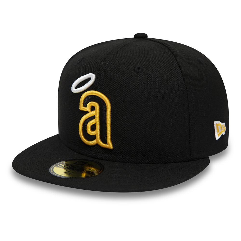 California Angels Black 59FIFTY da388dfee3f