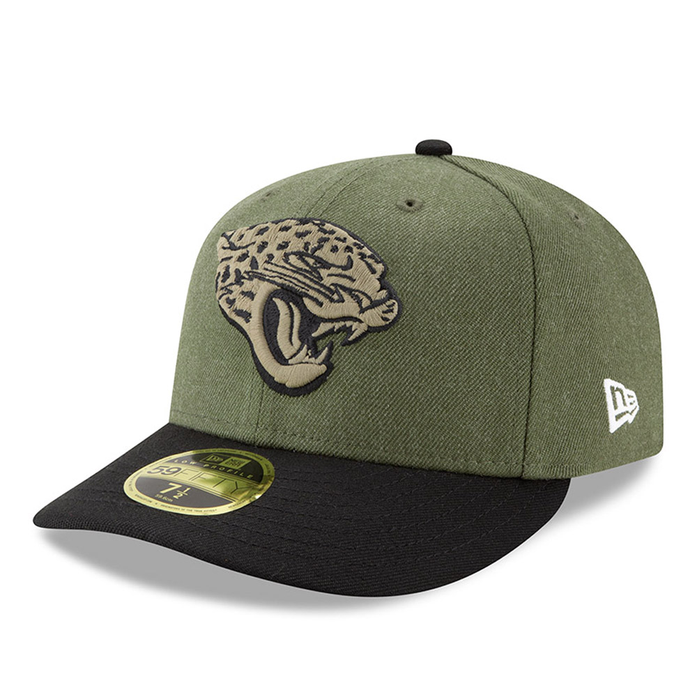 80e969548af ... sideline fitted cap 59534 76602  real jacksonville jaguars salute to  service low profile 59fifty c5fd0 26efa