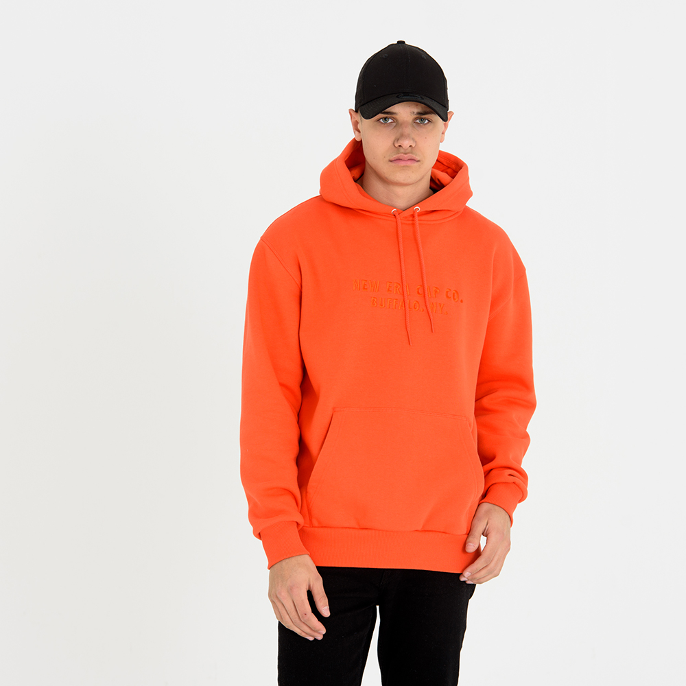 New Era – Hoodie – Orange