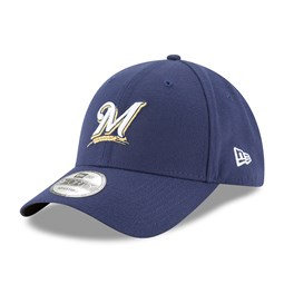 online store 1587e 23247 Milwaukee Brewers Postseason Side Patch 9FORTY