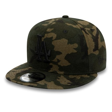 Los Angeles Dodgers Melton Camo 9FIFTY Snapback