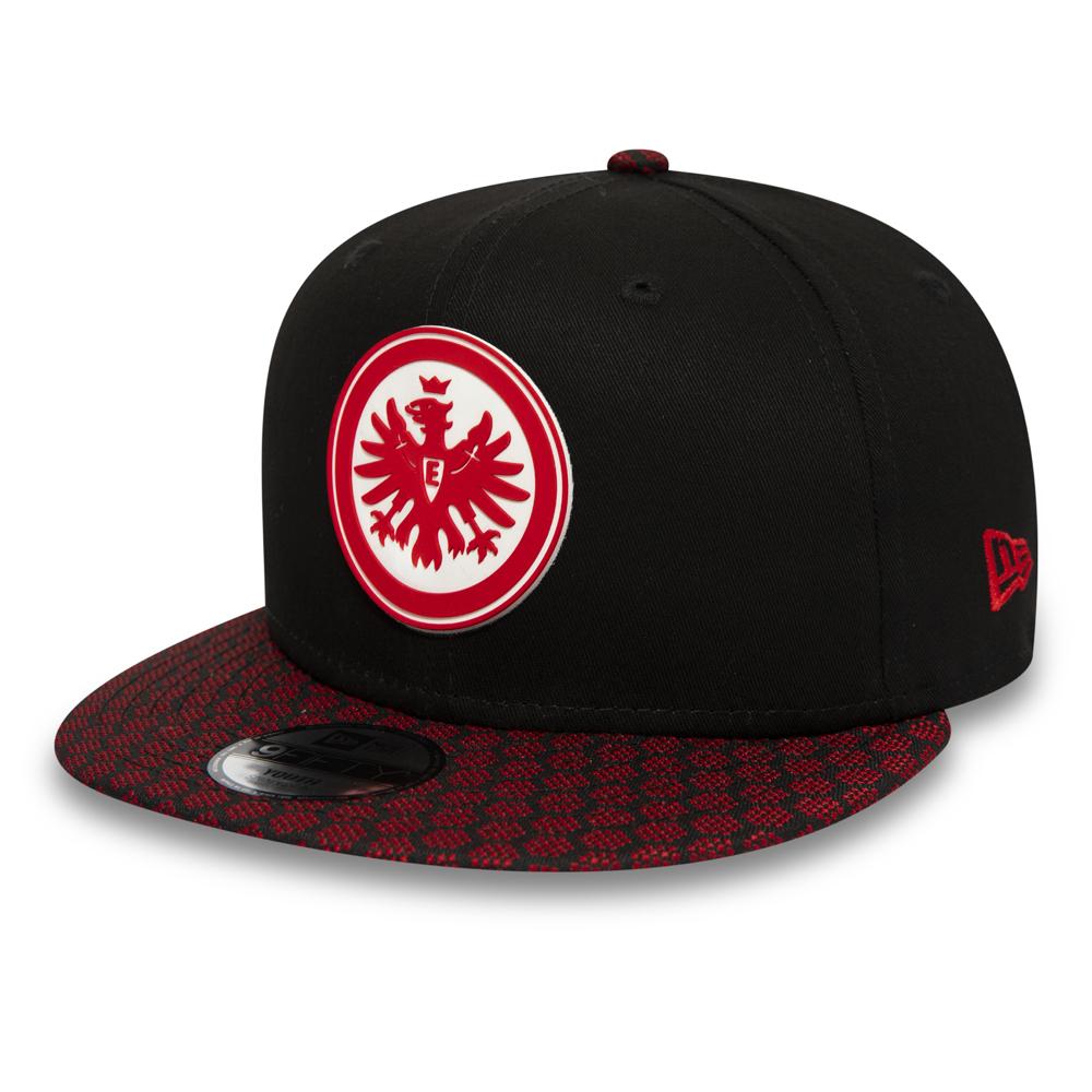 Cappellino con chiusura posteriore Hex Weave 9FIFTY dell'Eintracht Frankfurt