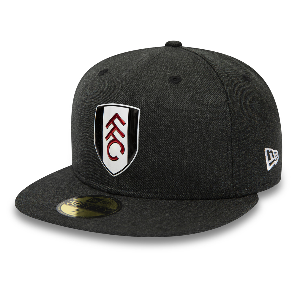 Fulham FC Black Heather Logo 59FIFTY