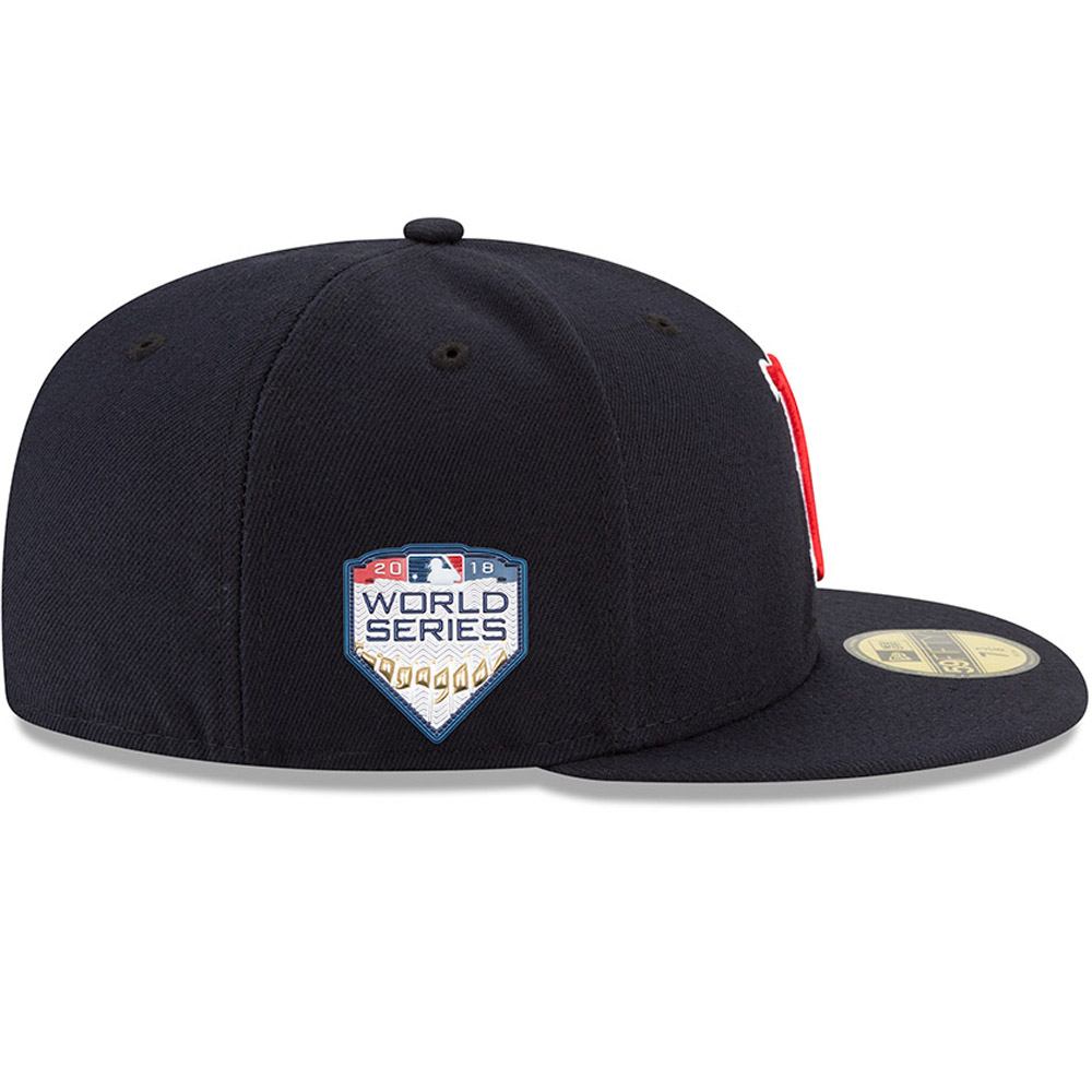 612a230c5 Boston Red Sox World Series 2018 Side Patch 59FIFTY   New Era