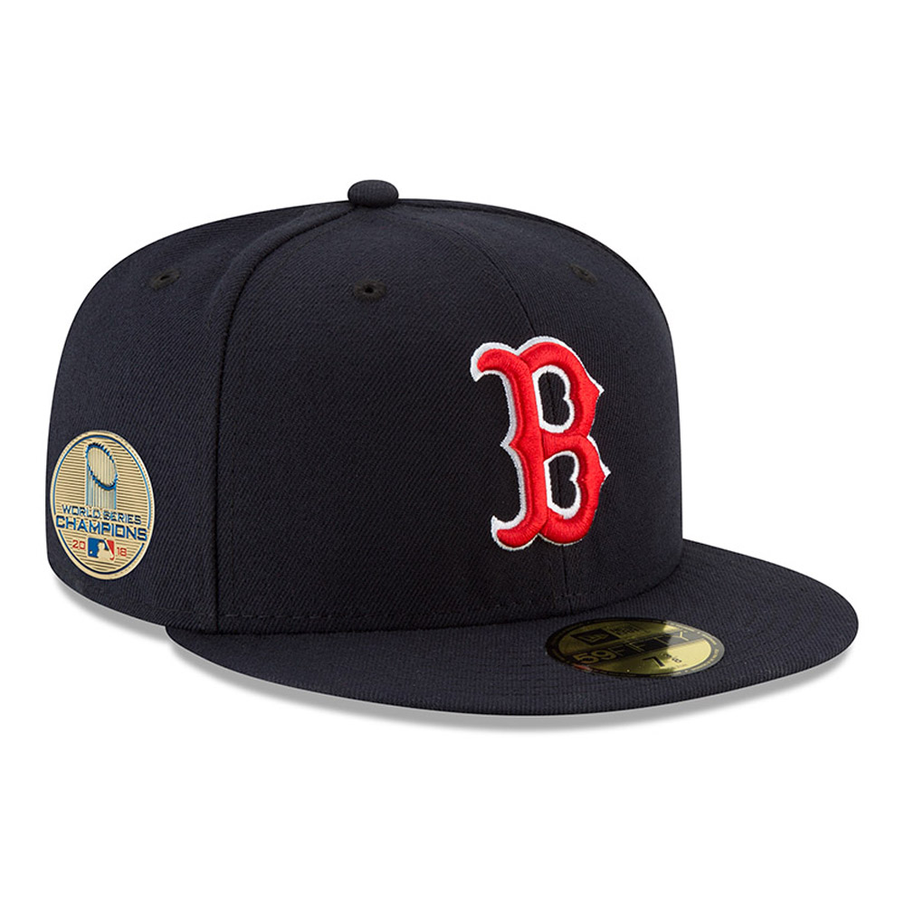 Cappellino Boston Red Sox World Series Champions 2018 Side Patch 59FIFTY
