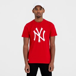 New York Yankees Team Logo Red Tee