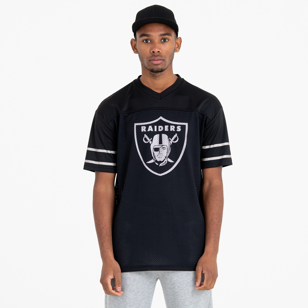 Oakland Raiders Team Logo Oversized Tee