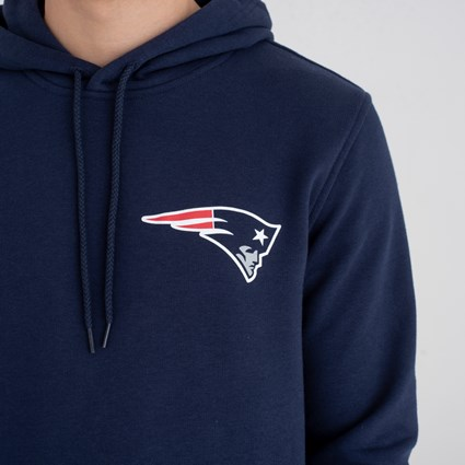 New England Patriots Team Logo Pullover Hoodie