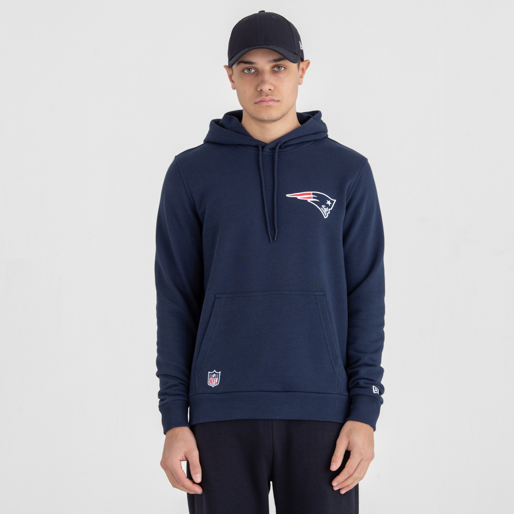 New England Patriots Team Logo Pullover Hoodie 637fe2f14
