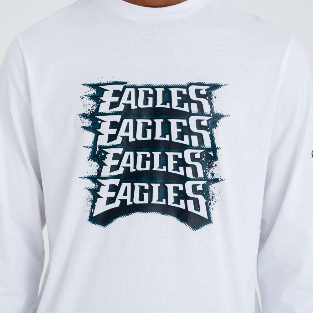 Maglia a maniche lunghe Philadelphia Eagles Repeat Wordmark