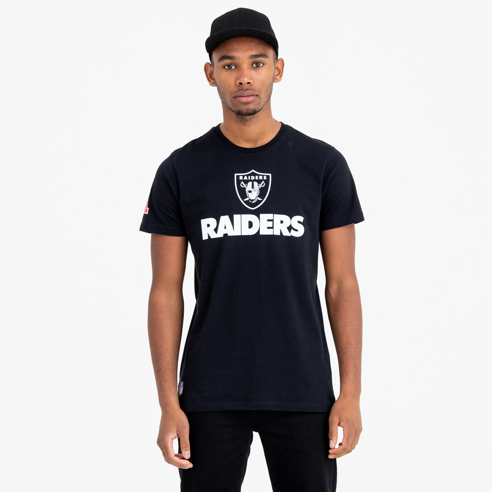 Oakland Raiders Fan Logo Tee