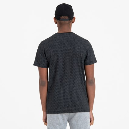 New Era Rain Camo Black Tee