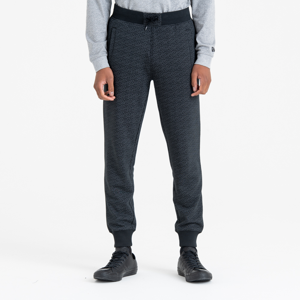 Pantalones de chándal New Era Rain, negro camo