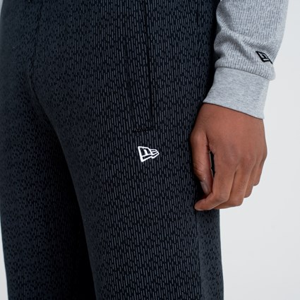 New Era Rain Camo Black Track Pant