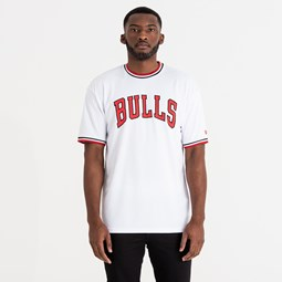 Chicago Bulls Tipping Wordmark Tee