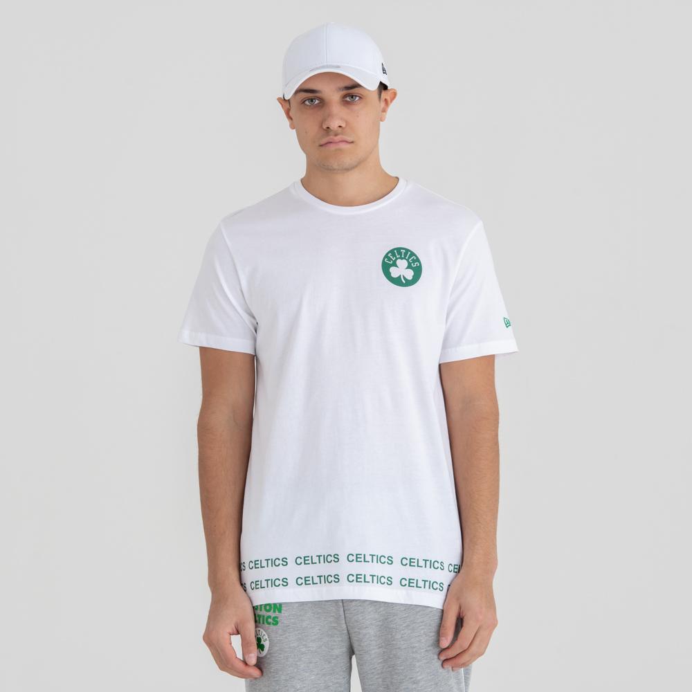 Boston Celtics Wordmark White Tee c16d2bc9922d