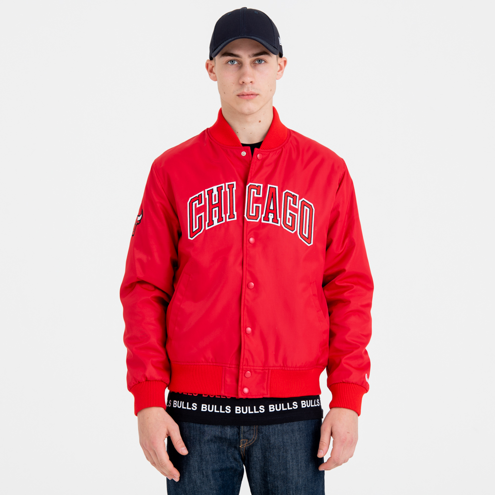 Chaqueta Chicago Bulls Team Wordmark Varsity