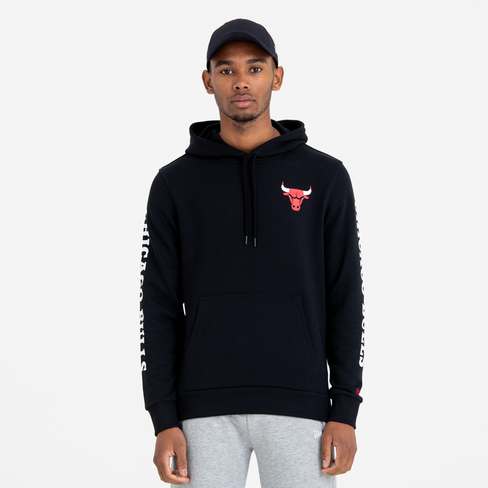 8373e53c01a Chicago Bulls Team Wordmark Pullover Hoodie