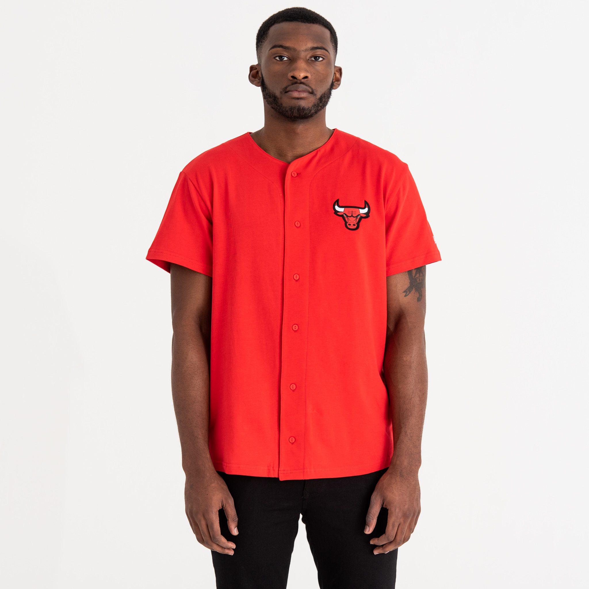Chicago Bulls Team Logo Button Up Tee