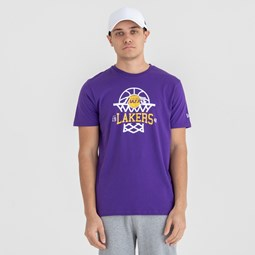 Los Angeles Lakers Net Logo Tee