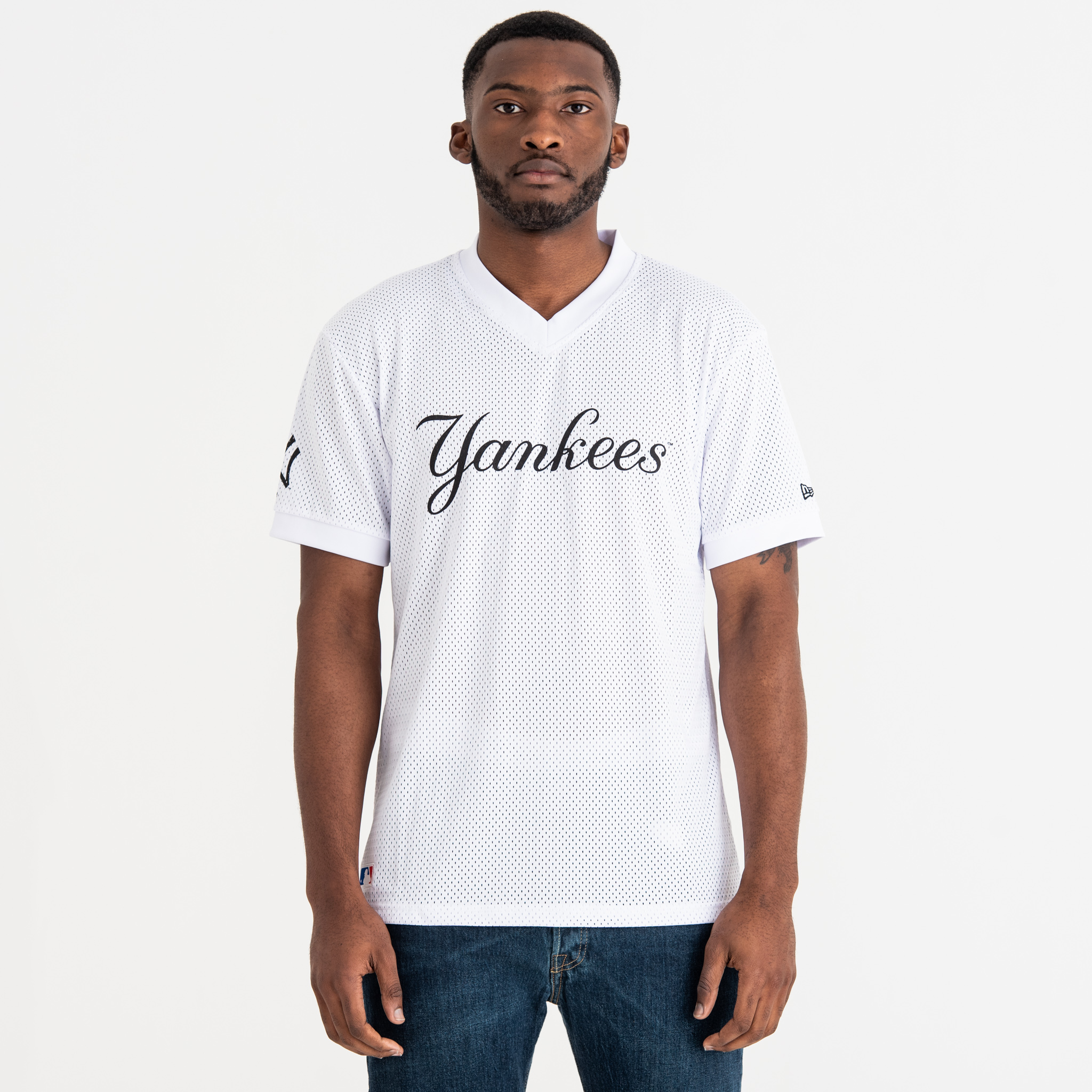 New York Yankees Wordmark Sport Tee