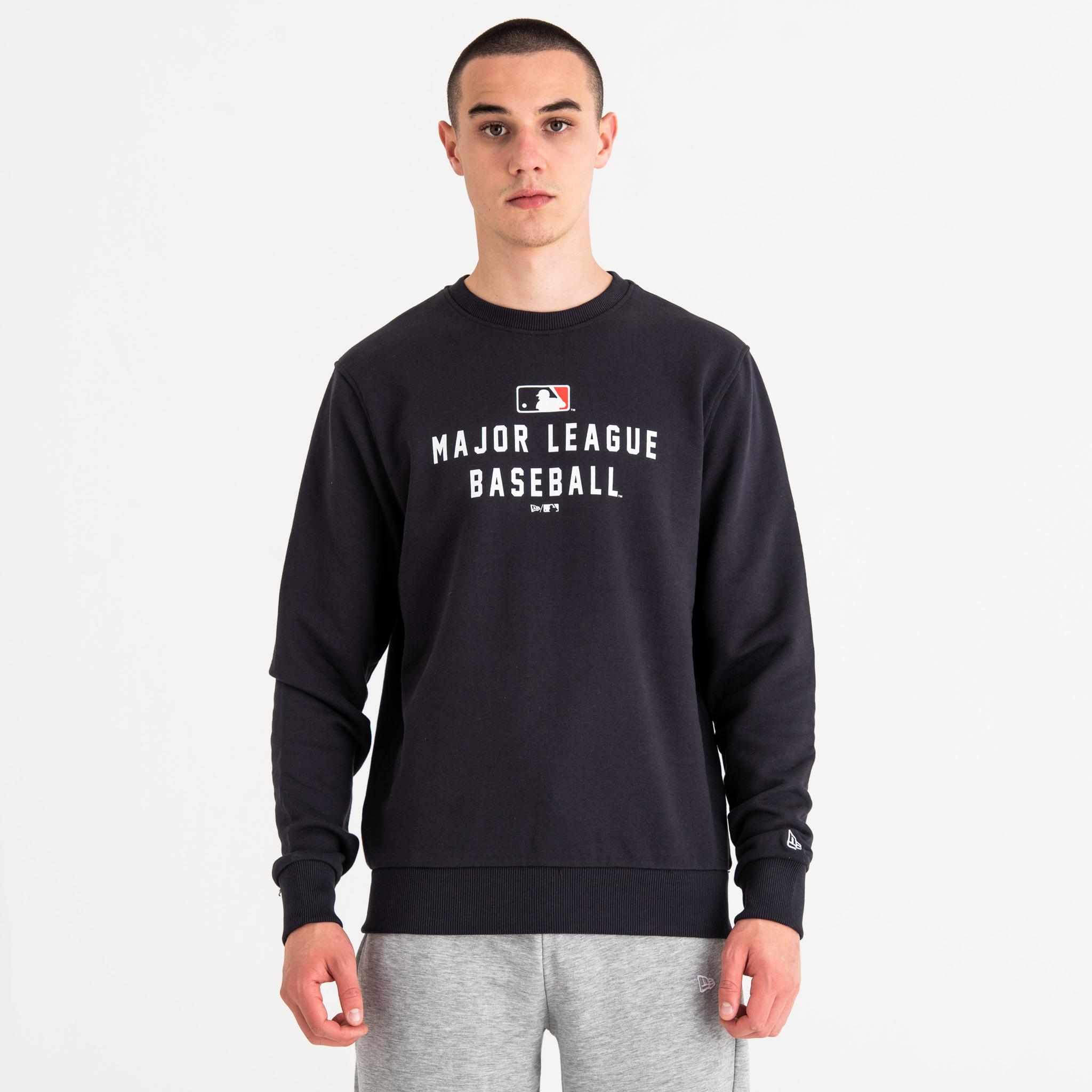 MLB Logo – Rundhalsausschnitt – Marineblau
