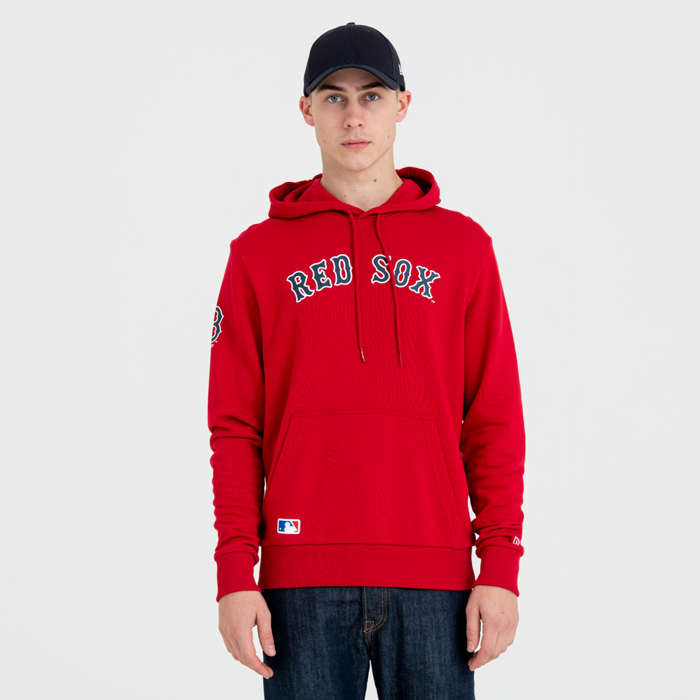 Boston Red Sox Jersey Script Pullover Hoodie