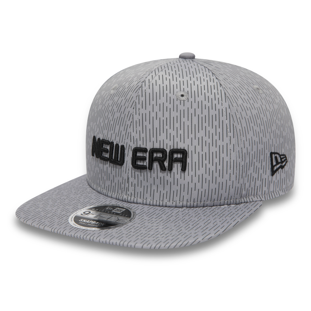 New Era Rain Camo Original Fit 9FIFTY Snapback gris