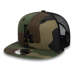 Los Angeles Dodgers Camo Essential 9FIFTY Trucker