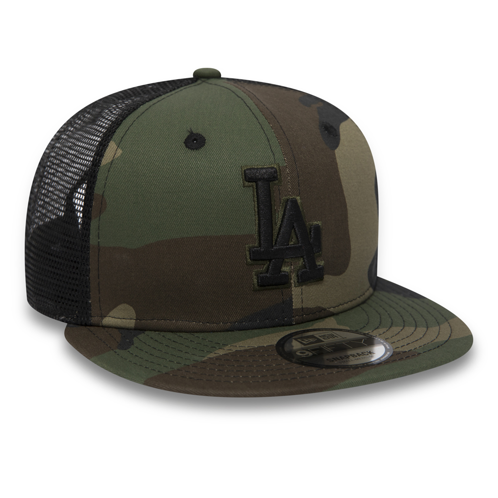 Camouflage League Essential New Era 9FIFTY L.A Dodgers Trucker Cap