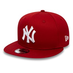 New York Yankees Kids Essential Red 9FIFTY Snapback