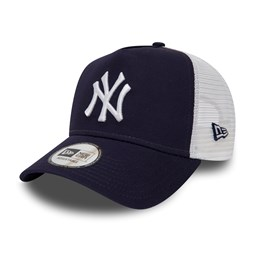 New York Yankees Essential A Frame Trucker blu navy donna