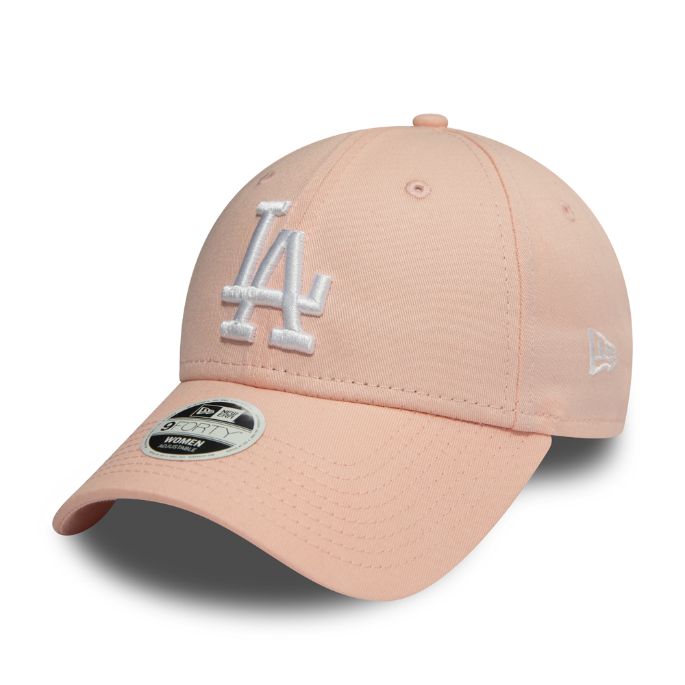 Los Angeles Dodgers Womens Essential Pink 9FORTY 03ab1f8c39