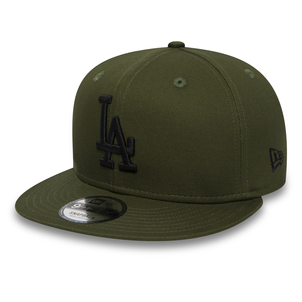 Los Angeles Dodgers Essential 9FIFTY Snapback verde oliva