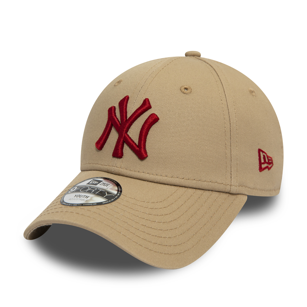 New York Yankees Essential 9FORTY cammello bambino
