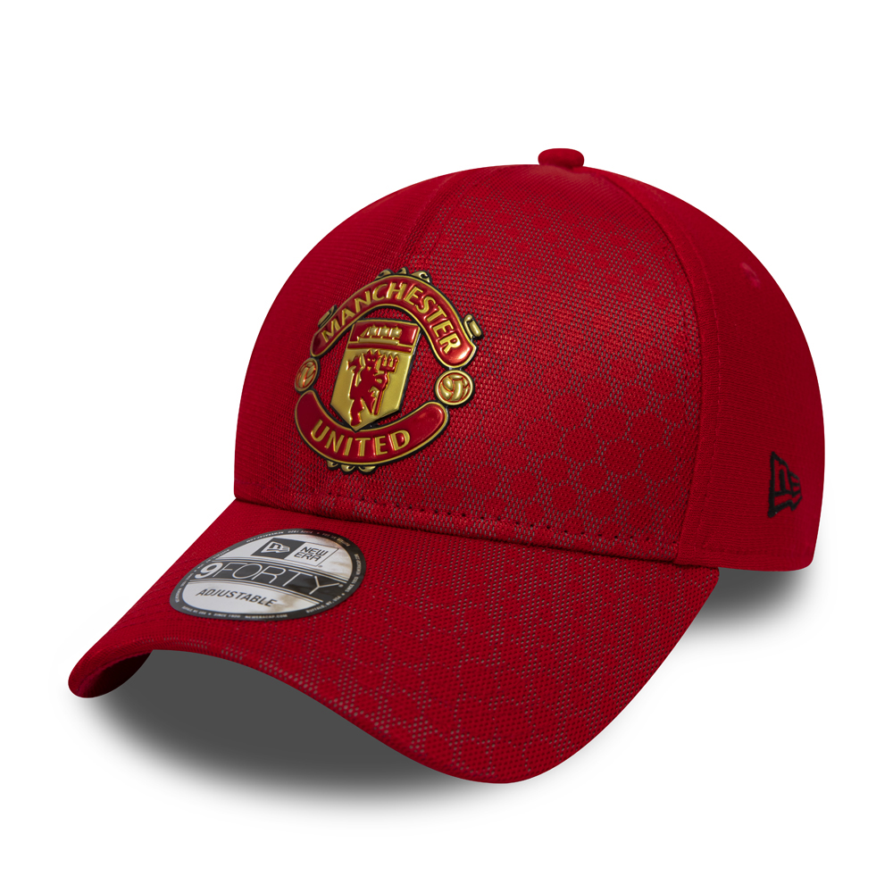 Manchester United Hex Pattern 9FORTY 7b01512eec1a