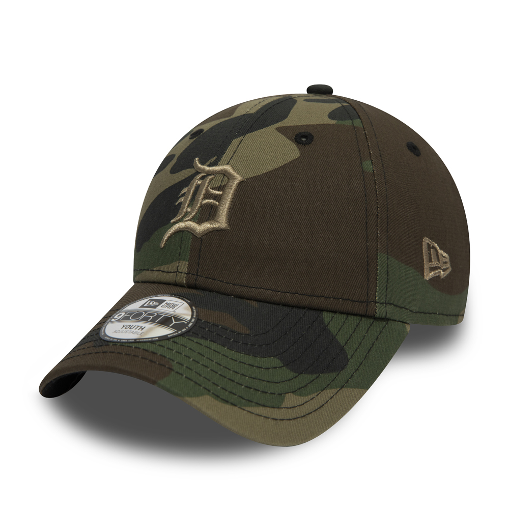 MLB Detroit Tigers wood camo New Era 9Forty Cap