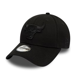 Chicago Bulls Kids Black on Black 9FORTY Snapback a22becbb76b