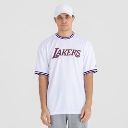 Los Angeles Lakers Tipping Wordmark Tee