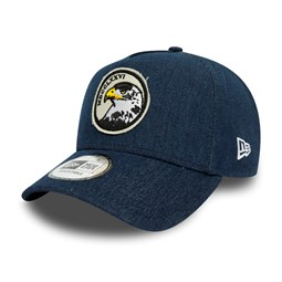 New Era Navy Denim A Frame Trucker