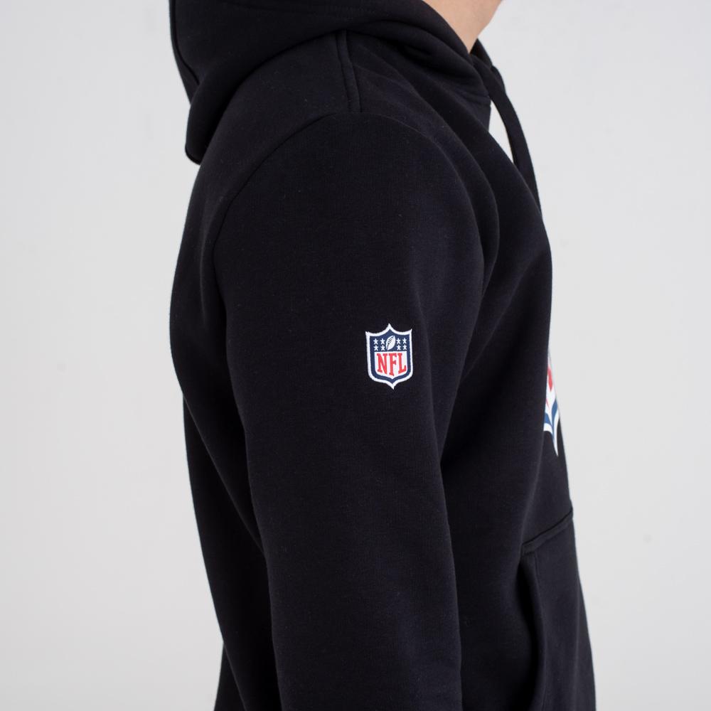 Sweat à capuche logo NFL noir