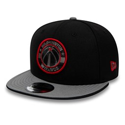 8d17d46b8b6 Washington Wizards Black 9FIFTY Snapback