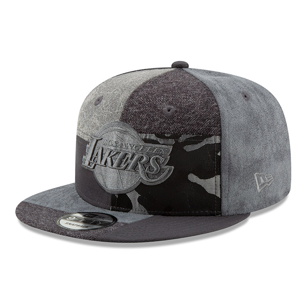 Los Angeles Lakers Premium Patched 9FIFTY Snapback 3c1bd2b5090