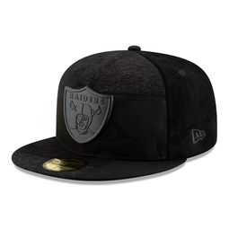 fa63bafbf2f Oakland Raiders Premium Patched 59FIFTY