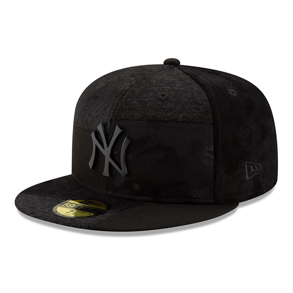 New York Yankees Premium Patched 59FIFTY b84ce07f6f7b